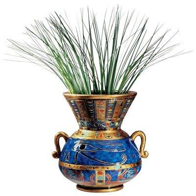 Design Toscano Eye of Horus Egyptian Vase (Set of 2)