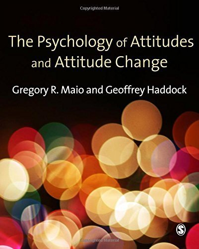 Gregory Sage - The Psychology of Attitudes and Attitude Change (Sage Social Psychology Program) by Gregory R. Maio (2010-01-20)