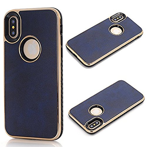 Cover for iPhone 8, 4.7 inch iPhone 7 Case for Girls, Sammid Lightweight Slim Fit Dual Layer Protective Cover Case for iPhone 7/8 - Blue by Sammid