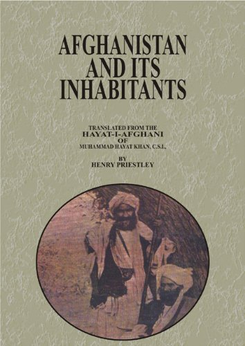 Afghanistan and Its Inhabitants: Translated from The HAYAT-I-AFGHANI of Muhammad Hayat Khan