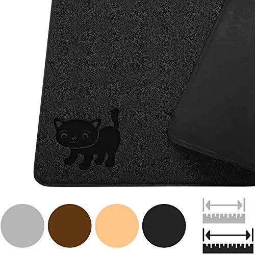 Smiling Paws Pets Premium Jumbo Cat Litter Mat, XL 47