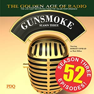 Gunsmoke, Season 3 Radio/TV Program