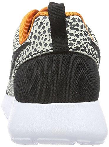 Nike Roshe One Safari (Gs), Zapatillas de Running para Niños Negro / Blanco (Black / Black-Cly Orng-Smmt Wht)
