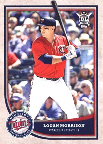 2018 Topps Big League #163 Logan Morrison Minnesota Twins Baseball Card - GOTBASEBALLCARDS