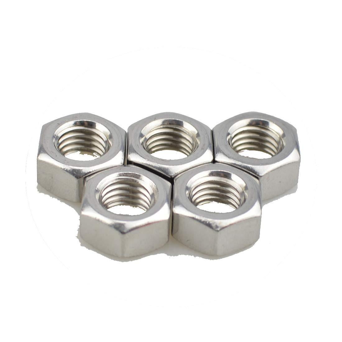 5, M14-2.0 pitch XunLiu 316 Stainless Steel Hex Nut