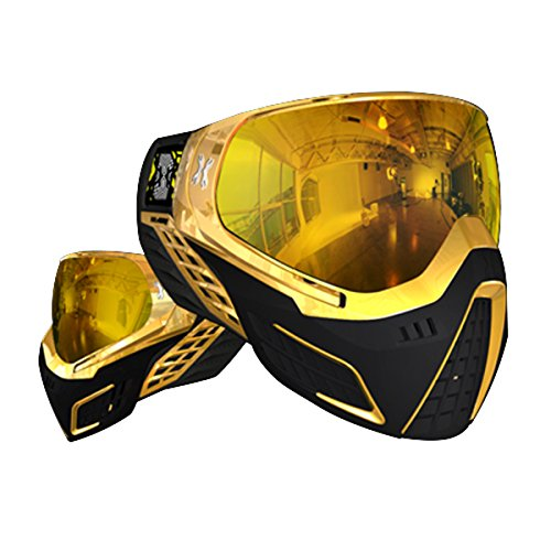 HK Army KLR Paintball Goggle Mask - Metallic Gold
