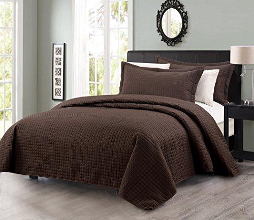 Chocolate Brown Comforter Sets - 9