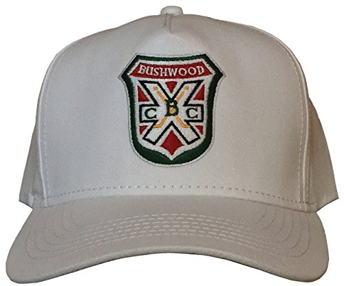 A&R Collectibles, Inc. Caddyshack Style Bushwood WHITE Retro Snapback Golf Cap/Hat