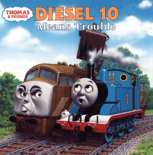 Diesel 10: Means Trouble (Thomas and the Magic Railroad) by Allcroft, Britt (2000) School & Library Binding