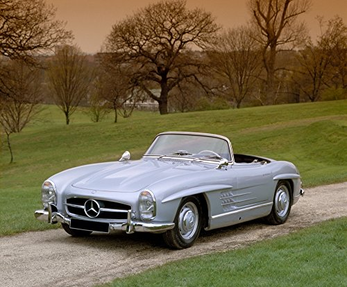 Posterazzi 1957 Mercedes Benz 300SL 3.0 litre roadster. Country of origin Germany. Poster Print (32 x 36)