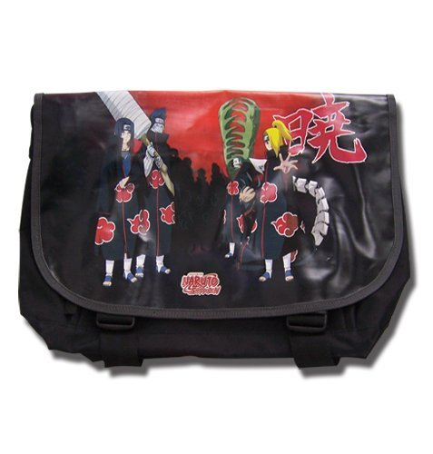 Great Eastern Entertainment Naruto Shippuden Akatsuki Messenger Bag