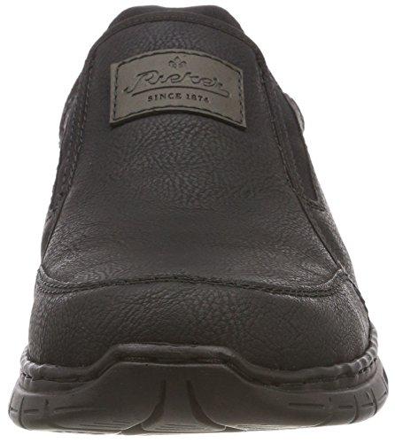 schwarz Rieker Homme Baskets graphit Enfiler Noir schwarz 05 B4873 aw4U0Wqrw