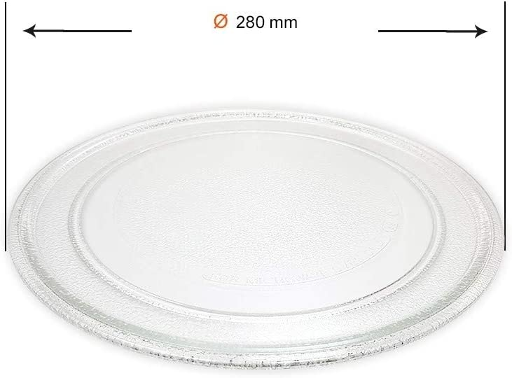Recamania Plato Giratorio microondas diametro 280 mm A01B01: Amazon.es