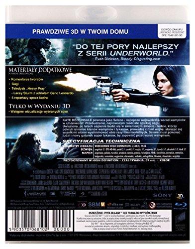 Underworld Awakening [Blu-Ray 3D] [Region Free] (English audio. English subtitles)