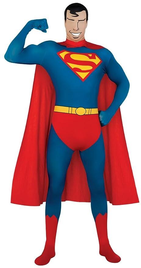 Disfraz segunda piel Superman? - S: Amazon.es: Juguetes y juegos