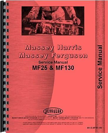 Massey Ferguson Bedienungsanleitung für Traktor MF130