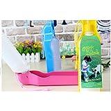 EWIN(R) 1 PCS Pet Dog Water Bottle Bowl Travel Puppy Feeding Drink Dish 500ml