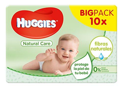 🥇 Huggies Natural Care – Toallitas para bebé
