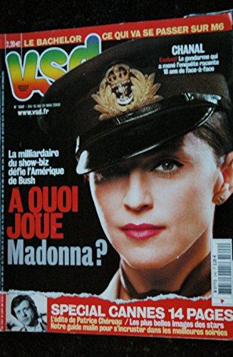 VSD 1342 A quoi joue MADONNA ? COVER + 5 pages mai 2003