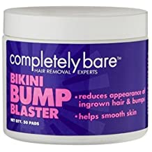 Completely Bare Bikini Bump Blaster Pads For Ingrown Hairs 50 ea by Completely Bare