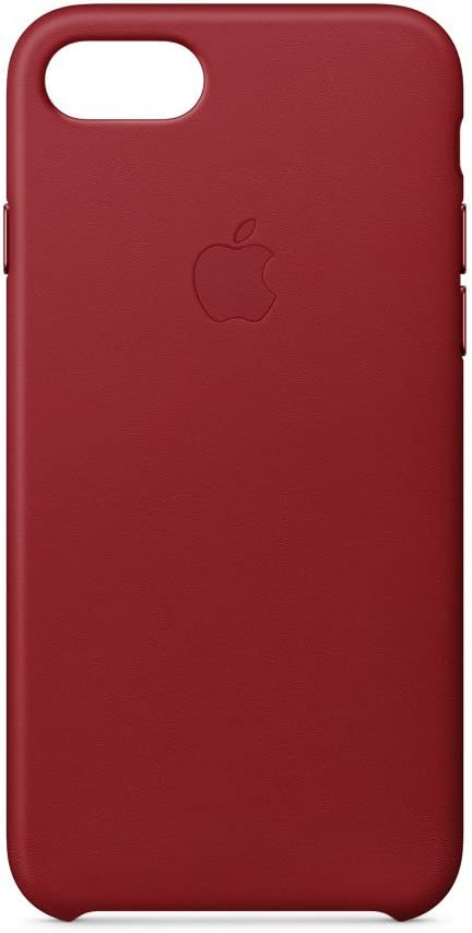 Apple iPhone 8 / 7 Leather Case - (PRODUCT)RED