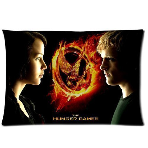 Custom The Hunger Games Pillowcase Standard Size 20x30 Cotton Pillow Case (Diy Hunger Games)