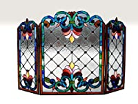 Tiffany Style Stained Glass Victorian Fi...