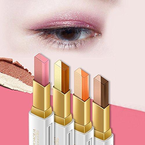 Lidschatten Bleistift, Farbverlauf Doppelte Farben Eyeliner Eye Cream Pen Makeup Cosmetic Drive (2)