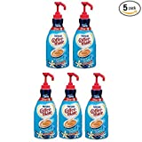 NESTLE COFFEE-MATE Coffee Creamer, French Vanilla, 1.5L liquid pump bottle, Pack of 5