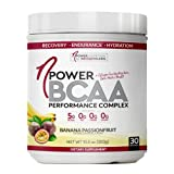 nPower Nutrition BCAA | All Natural BCAA, Collagen, Electrolyte Powder| 30 Servings | Banana Passionfruit