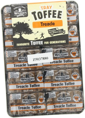Treacle Toffee - Walkers Treacle Toffee, 3.5-Ounce Packages (Pack of 10)