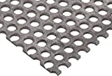 A36 Steel Perforated Sheet, Unpolished