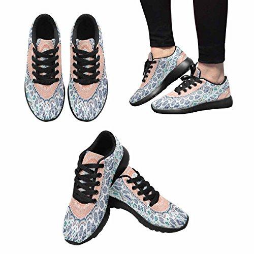 Chaussures De Course De Trailprint Womensprint Footing Jogging Sports Légers Marchant Athlétisme Chaussures De Sport Abstraite Festive Coloré Floral Indien Mandala Ethnique Tribal Multi 1