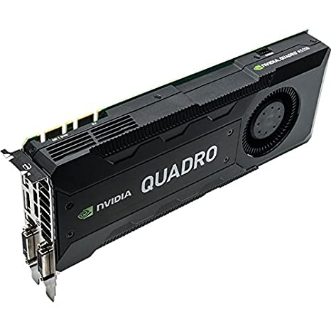 Nvidia Quadro K5200 - Tarjeta gráfica (8 GB, 256 bits, PCIe ...