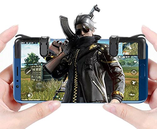 Royale Handle - Rules of Survival!The Latest Shooting Game Artifact,apply to and aim L1R1 Trigger Buttons for Knives Out/PUBG/Survivor Royale/Rules Of Surviva Game Handle Shortcut Keys To Assist Android And iOS Mob