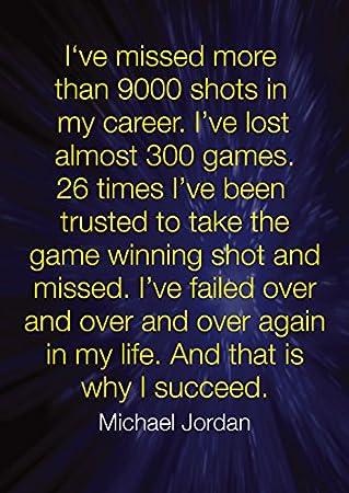 Amazonde Poster Nr 18 Mit Motivations Spruch Basketball