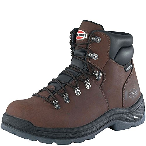 UPC 690774231696, IA0162 Iron Age Men's Tiller CT Safety Boots - Brown - 11.5 - W