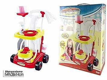 Carrito Limpieza con Accesorios Juguete Juegos Idea regalo Navidad # AG17: Amazon.es: Hogar