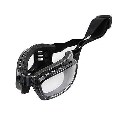 Aofocy Gafas de Estilo Hanji Zoe pequeños artículos para Disfraces Lente Transparente