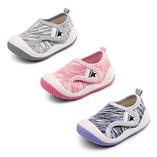 Image of OAISNIT Baby Boys Girls Sneakers Anti Slip Lightweight Soft Toddler First Walkers for Walking Running