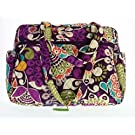 Vera Bradley Baby Bag (Plum Crazy with Solid Purple Interior)