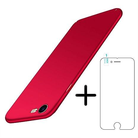 custodia iphone 8 con vetro temperato