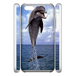 iphone6 Plus 5.5 3D Cell Phone Case Phone Case White Dolphin WQ5RT7485988