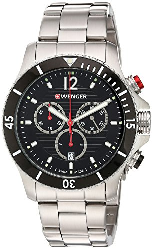 Wenger-Mens-Seaforce-Chrono-Swiss-Quartz-Stainless-Steel-Casual-Watch-ColorSilver-Toned-Model-010643109