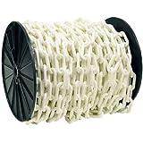 Easy Gardener #982 125'#8 White Plastic Chain
