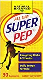 Natural Balance Pep, Super Capsules, 30 Count