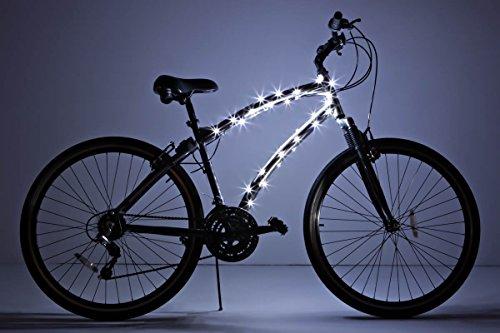 Brightz CosmicBrightz LED Bicycle Frame Light, White