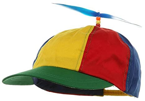 d54595d9920 Image Unavailable. Image not available for. Color  Children s Propeller  Multi Colored Baseball Hat