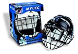 Mylec Jr. Helmet with Wire Face Guard, White