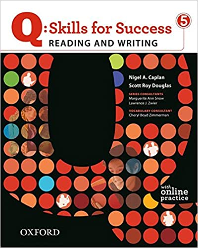Amazon q skills for success 5 reading writing student book amazon q skills for success 5 reading writing student book with student access code card 9780194756426 nigel a caplan scott roy douglas books fandeluxe Images